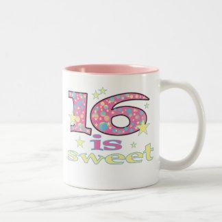 16 is Sweet Coffee Mug