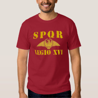 16 Julius Caesar's 16th Legion Shirt