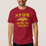 16 Octavian/Augustus' 16th Legion - Roman Eagle T-Shirt