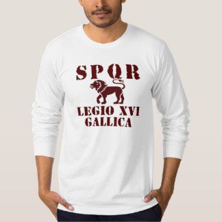 16 Octavian/Augustus' 16th Legion - Roman Lion T-Shirt