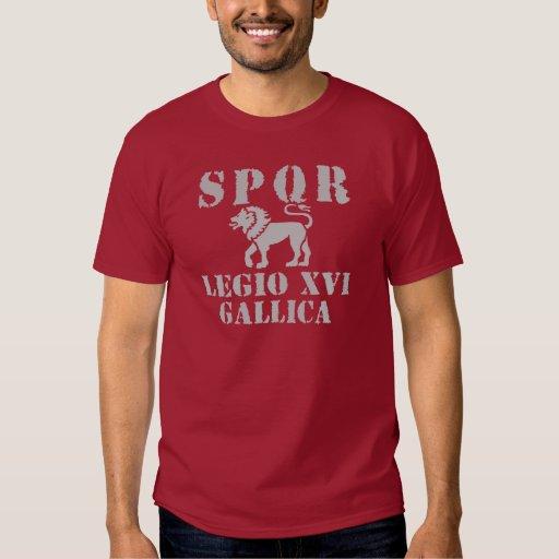 16 Octavian/Augustus' 16th Legion - Roman Lion T-Shirt