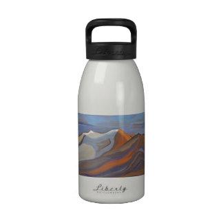 16 oz blue mountain water bottle