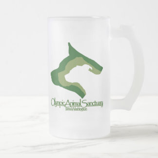 16 oz. Frosted Frosted Glass Beer Mug