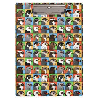 16 perfiles norteamericanos del rapaz (tejados)