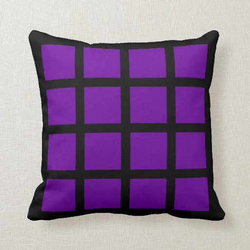 16 Square Photo Collage Throw Pillows