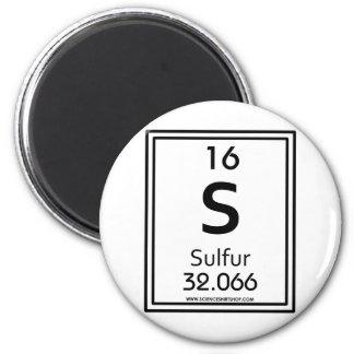 16 Sulfur Magnet