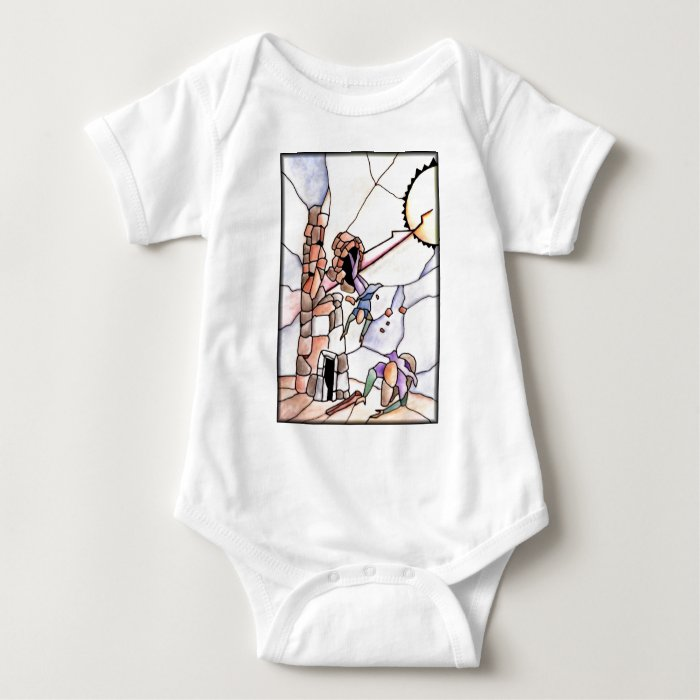 16 - Tower Baby Bodysuit