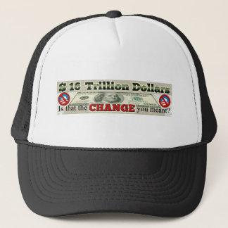 $ 16 TRILLION NATIONAL DEBT TRUCKER HAT