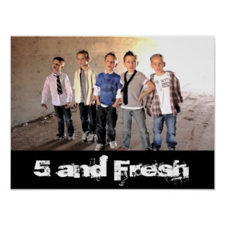 """16"""" x 12"""" 5 and Fresh Tunnel Poster! Poster"""