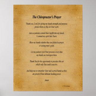 16 x 20 Chiro Prayer Poster
