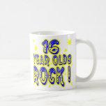 16 Year Olds Rock! (Blue) Mug