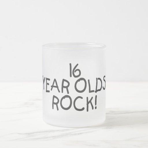 16 Year Olds Rock Mugs