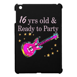 16 YEARS OLD AND READY TO PARTY COVER FOR THE iPad MINI