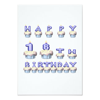 16 Years Old Card