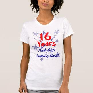 16 Years Still Looking Good Funny Sweet Sixteen T Shirt