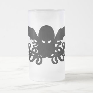 16oz Frosted Cthulhu Mug -One Ice Cold Elder God