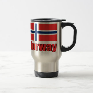 16oz Stainless Steel Travel Mug Norway\Flag