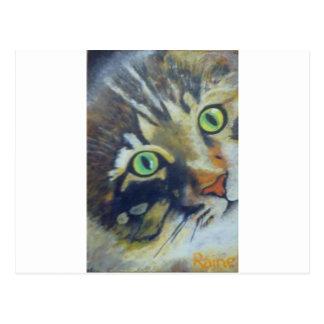 16Pussycat - Raine.jpg Postcard