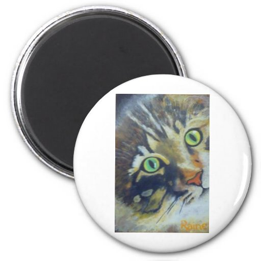 16Pussycat - Raine.jpg Refrigerator Magnet