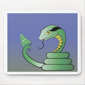 16snake mouse pad