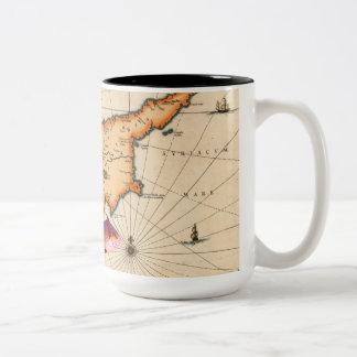16th/17th Century Nautical Map Mug