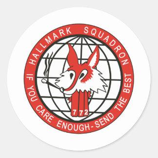 16th ACCS Round Sticker