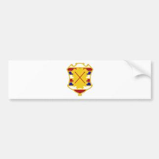 16th Antiaircraft Artillery Gun Battalion.png Bumper Sticker