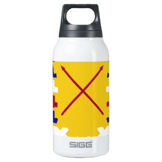 16th Antiaircraft Artillery Gun Battalion.png 10 Oz Insulated SIGG Thermos Water Bottle