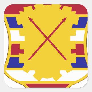 16th Antiaircraft Artillery Gun Battalion.png Square Sticker