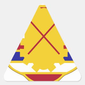 16th Antiaircraft Artillery Gun Battalion.png Triangle Sticker