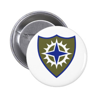 16th Army Corps Insignia Button