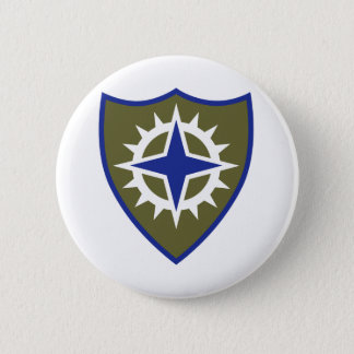 16th Army Corps Insignia Pinback Button