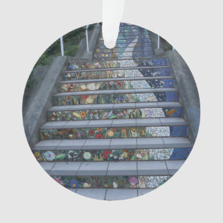 16th Avenue Tiled Steps #2 Ornament