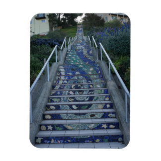 16th Avenue Tiled Steps Photo Magnet