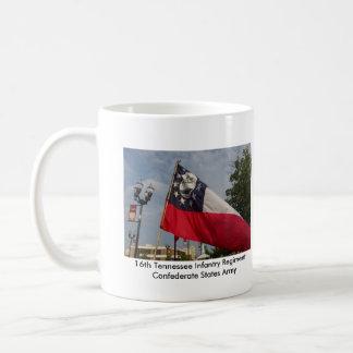 16th Battle Flag, 16th Tennessee Infantry Coffee Mug