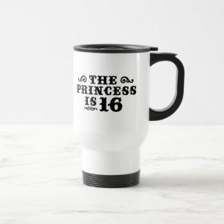 16th Birthday 15 Oz Stainless Steel Travel Mug