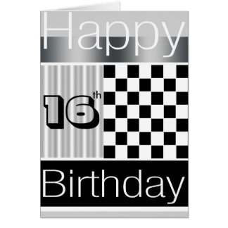 16th Birthday Greeting Cards