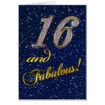 16th birthday for someone Fabulous Card