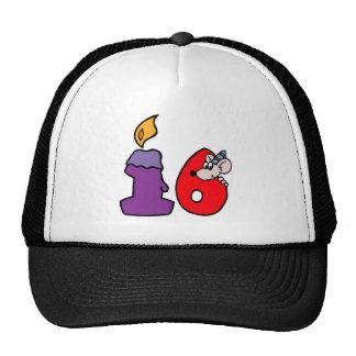 16th Birthday Hat Gift