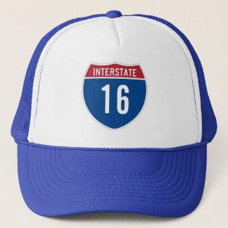 16th Birthday Interstate Sign Trucker Hat