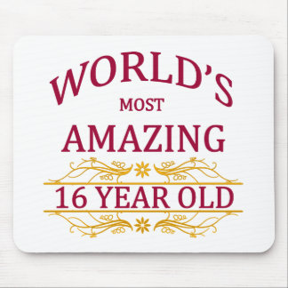 16th. Birthday Mouse Pad
