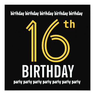 boys th birthday invitations  announcements  zazzle, Party invitations