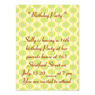 16th Birthday Photo Card Invitation