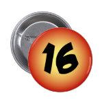16th Birthday Pin for Guys