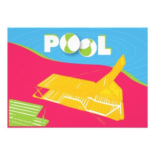 "16th Birthday Pool Party Invitation 5"" X 7"" Invitation Card | Zazzle"