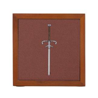 16th Century Bearing Sword Pencil Holder