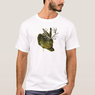 16th century Jackalope T-Shirt