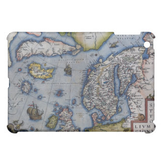 16th Century Map of Scandinavia Case For The iPad Mini