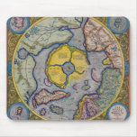 16th Century Mercator North Pole Map Mouse Pad