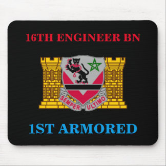16TH ENGINEER BATTALION 1ST ARMORED MOUSEPAD